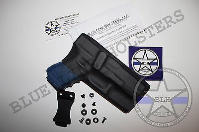 Kydex HOLSTER complete DIY KIT Inside Waistband IWB Molded ready to cut u pick