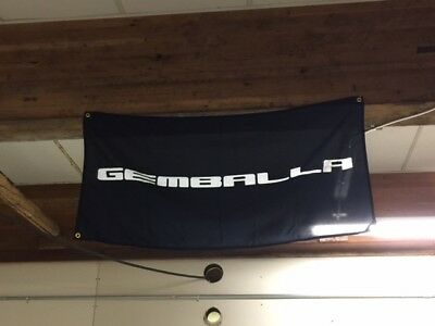 Motorsport Gemballa flag banner ~ Carrera 917 911 GT3 turbo racing le mans