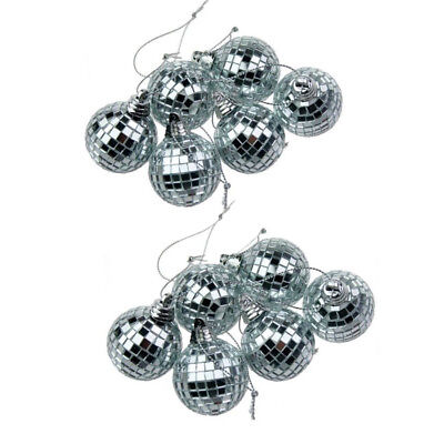 25CM Large Mirror Glass Disco Ball DJ Dance Home Party Bands Club Stage Lighting