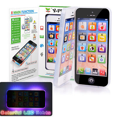 YPhone Music Mobile Phone Study Creative USB Cable Toys for Child Kids Hot Gift.