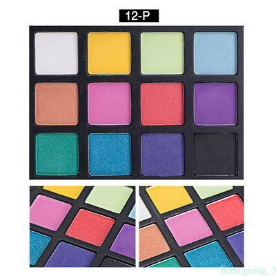 New 12 Colors Eyeshadow Pallete Faced Matte Comestic Make up Eye Shadow Palette