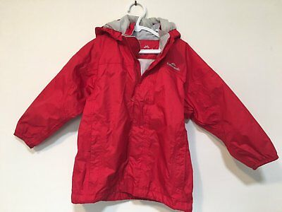Child's Red Kathmandu Spray Jacket Raincoat Size 4 in VGUC
