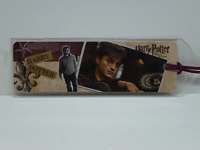 Harry Potter The Deathly Hallows Bookmark with Leather Strap