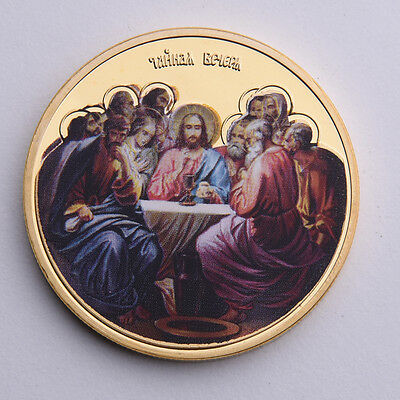 1pc The last Dinner Commemorative Coin Craft..