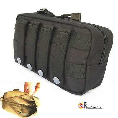 """7"""" Molle Vest Accessory Pouch Multifunctional Medical Magazine Utility Tool Bag"""