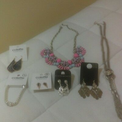 Bulk Jewellery - Colette Earrings, Statement Necklaces - over $70 value