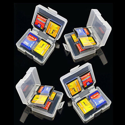 8 in 1 SD SDHC Memory Card Case Holder - Hard Protective Box for 16gb 32gb 64gb.