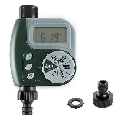 3/4'' Automatic Water Tap Timer Garden Drip Digital Irrigation System Sprinkler