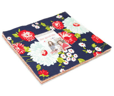 Quilting Fabric Layer Cake - Moda -The Good Life From Bonnie And Camille X 42