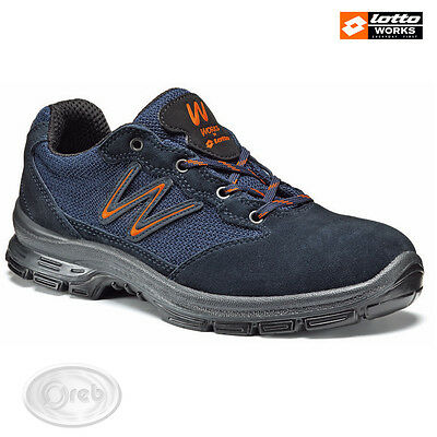 Safety Shoes Lotto Works Sprint 500 S1P Src N4403 Tip Steel