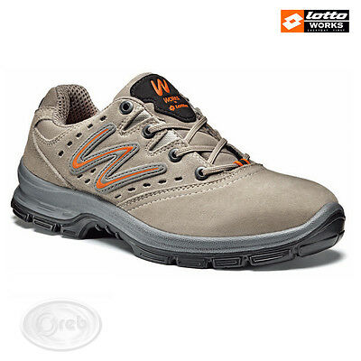Safety Shoes Lotto Works Sprint 300 S1P Src N4407 Tip Steel