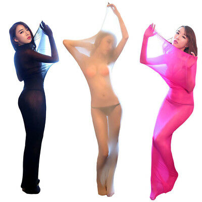 Sexy Double Sleeping Bag Jumpsuit Lingerie Body Stocking For Couples Womens Mens