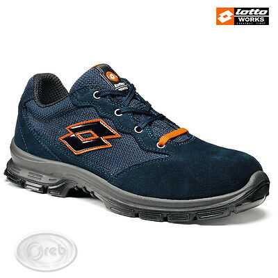 Safety Shoes Lotto Works Sprint 501 S1P Src Q8356 Tip Steel