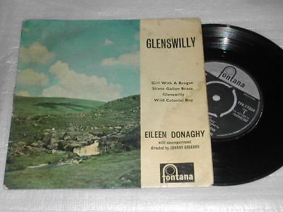 """Eileen Donaghy Glenswilly 7"""" EP Girl With A Brogue/Slieve Gallon Braes"""