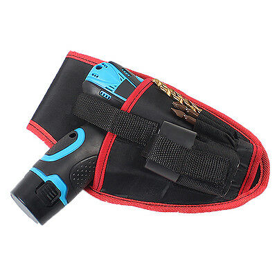 Heavy Duty Drill Holster Storage Holder Pouch Belt Waterproof Bag Pouch Pro