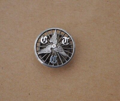 Vintage CTC Cyclists touring buttonhole badge Cycling club  / Bicycle interest