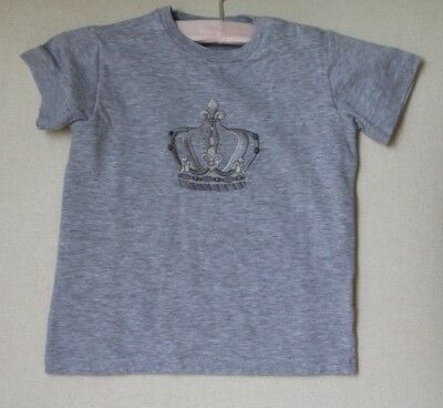 Dolce And Gabbana Baby Boys Grey Crown Appliqué Top 18-24 Months