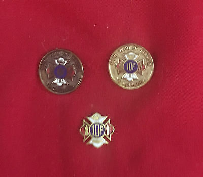 International Order Of Foresters pins