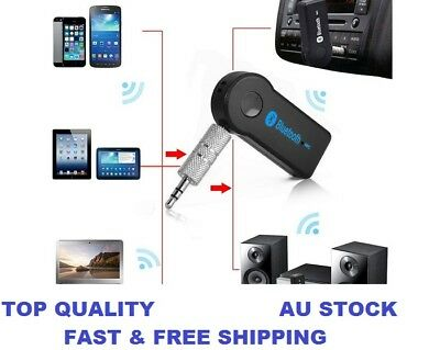 3.5mm to Bluetooth AUX Car Audio Stereo Music Home Car Receiver Adapter Wireless