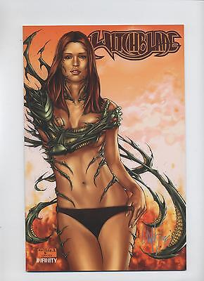 WITCHBLADE # 50 BIKINI-VARIANT - COMIC ACTION 2006 **signiert** - TOP