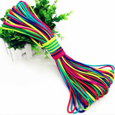 100ft Rainbow 550 Paracord Rope 7 Strand Parachute Cord Camping Hiking