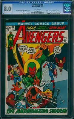 Avengers # 96  Neal Adams art ; The Andromeda Swarm !  CGC 8.0 scarce book !