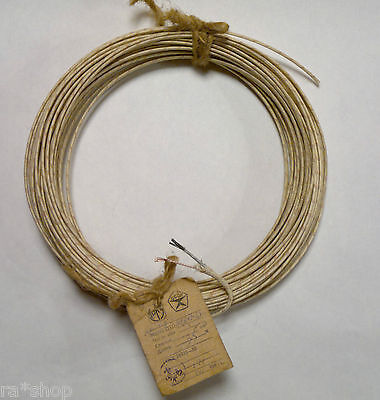 Wire thermocouple (thermocouple) PTP-M 1x1mm² +1x2,5mm²  ( 3 meter )