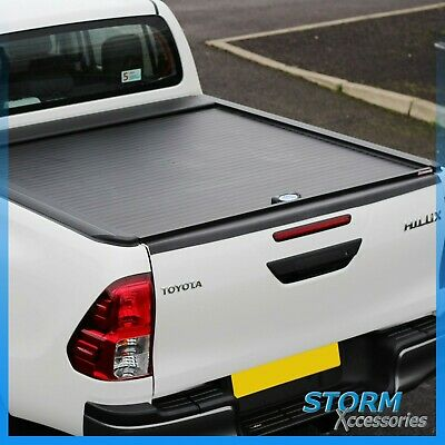 TOYOTA HILUX MK8 2016 ON Double Cab Armadillo Roll Top Covers - Roller Shutter