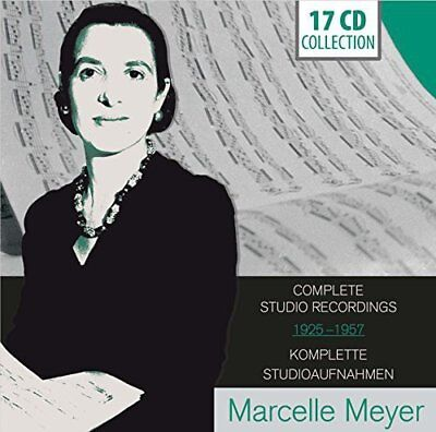 Marcelle Meyer - Marcelle Meyer: Complete Studio Recordings 1925-1957 [CD]