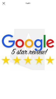GOOGLE review for your BUSINESS in UK from UK ONLY £1.99 CHEAPEST ON EBAY