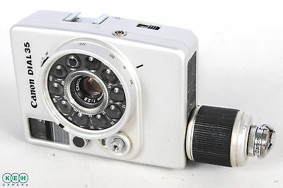 Canon Dial 35-2 35mm Half Frame Camera With 28 F2.8