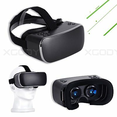 All-in-one Quad Core 3D Virtual Reality Android VR Headset 2K WIFI Bluetooth 16G