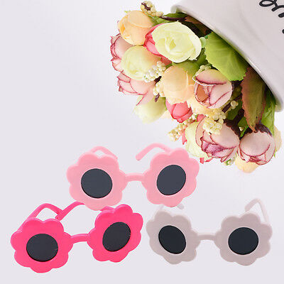 Fashion Cute Floral Shape .Sungasses For 18 Inch Doll Girl Kids Toy Wear