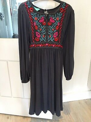Monsoon Boho Dress Age 8-9