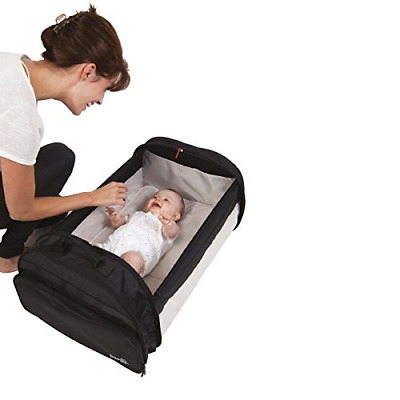 BabySun Lit de Voyage Simple Bed - Couffin Nomade Noir