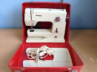 Bernina Minimatic Sewing Machine With Carry Case - SPARES REPAIRS