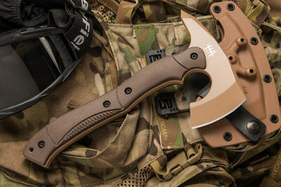 Hardcore Hardware Tactical Combat Military Axe Tomahawk Aussie Quality CTT-01G T