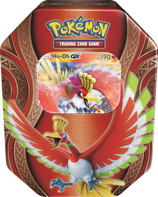 Pokemon - 1x Ho-Oh GX Tin Box - Herbst 2017 Tin Mix - Deutsch