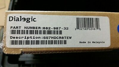 Dialogic SS7HDCR8TEW - BRAND NEW FACTORY SEALED (882-987)