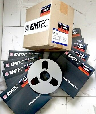 """NEW MADE FOR BBC BASF 10.5"""" REEL TO REEL 26.5 Tonband TAPE PRO MASTER 730m 2400"""