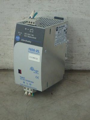 ALLEN BRADLEY 1606-XL120DR POWER SUPPLY, 100-240vac, 24vdc