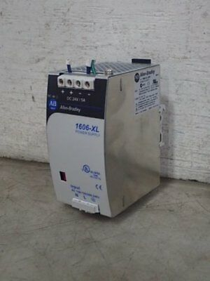 ALLEN BRADLEY 1606-XL120D POWER SUPPLY, 100-240 vac, 24 vdc