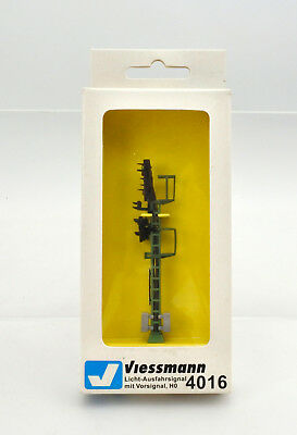 Viessmann Ho Scale 4016 Exit Signal With Advance Signal