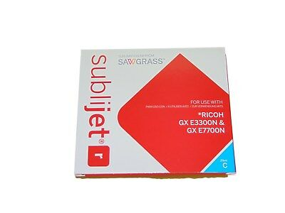 Sawgrass Sublimation Ink For Richo E3300N And Gx E77Oon Blue Yellow New