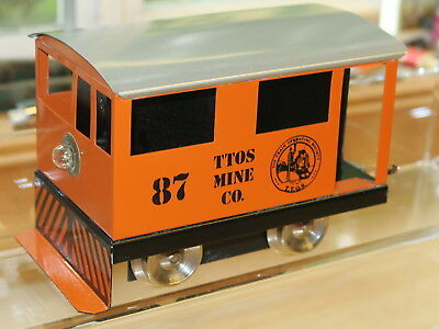 Rich-Art Ttos Convention Loco & Cars From The 1980's - Beautiful - Hard To Find