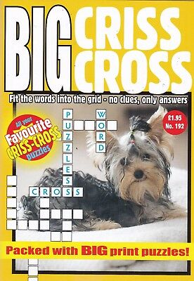 Criss Cross - 2 Book set - 161 Puzzles - New  (Set 143)
