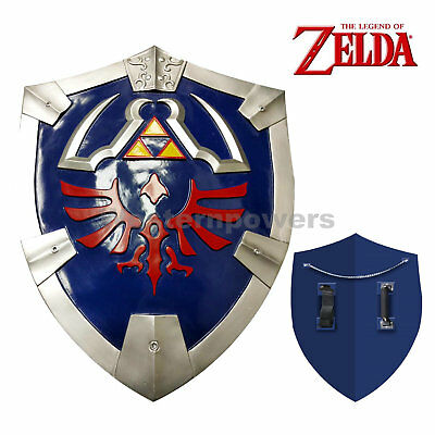 "New Legend of Zelda Link's Hylian Shield Cosplay  Video game 25"" x 19"" USA"