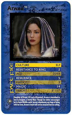 Arwen Lord Of The Rings The Return Of The King Specials Top Trumps Card (C439)