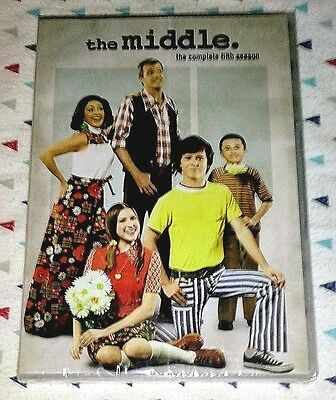 Brand New! The Middle: Complete Fifth Season 5. 2014 Dvd. 3-Discs. Ships Free