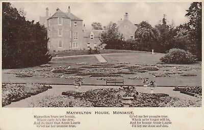 Dumfriesshire and Galloway, Moniaive, Maxwelton House.